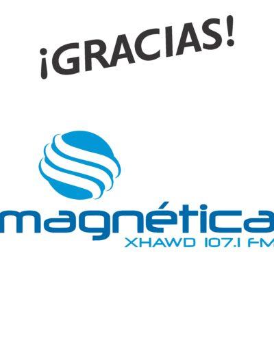 Lonas logos gracias22 MAGNETICA