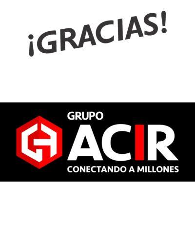 Lonas logos gracias23 ACIR