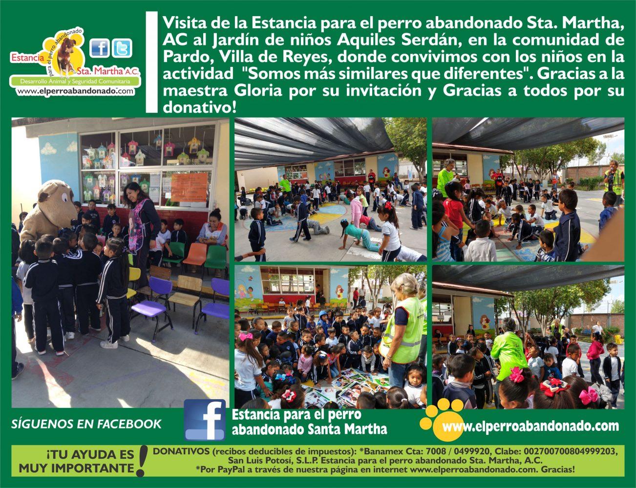 Nota 13 visita al kinder en Villa de Reyes 19-6-18