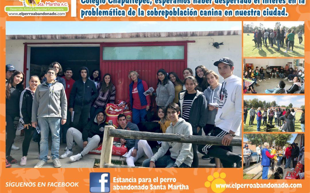 Visita de alumnos del COLEGIO CHAPULTEPEC